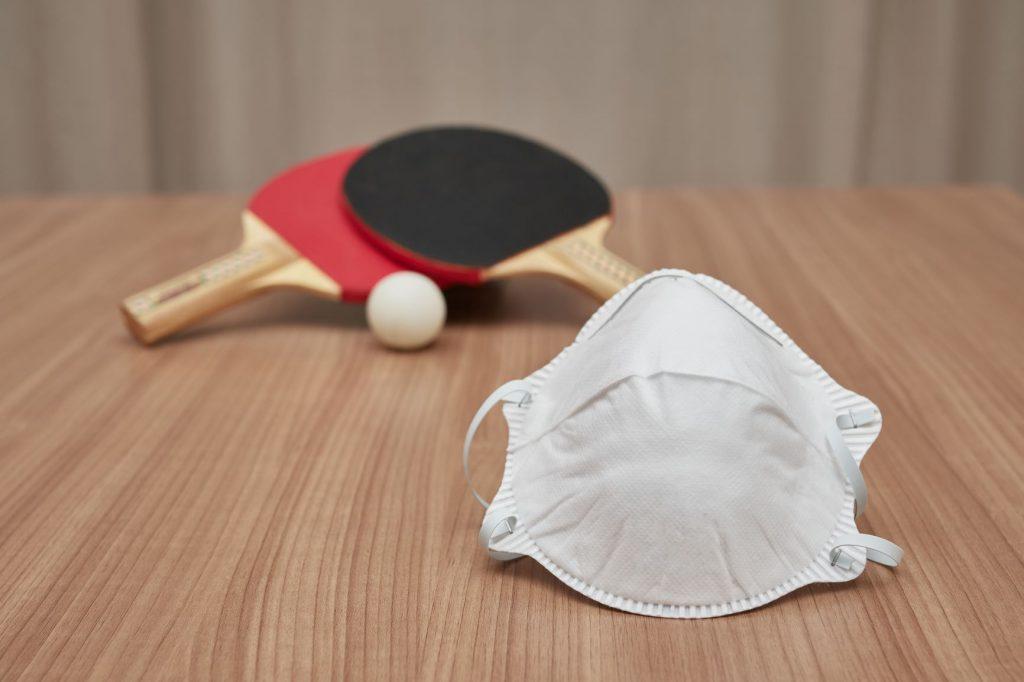 tenis stołowy koronawirus