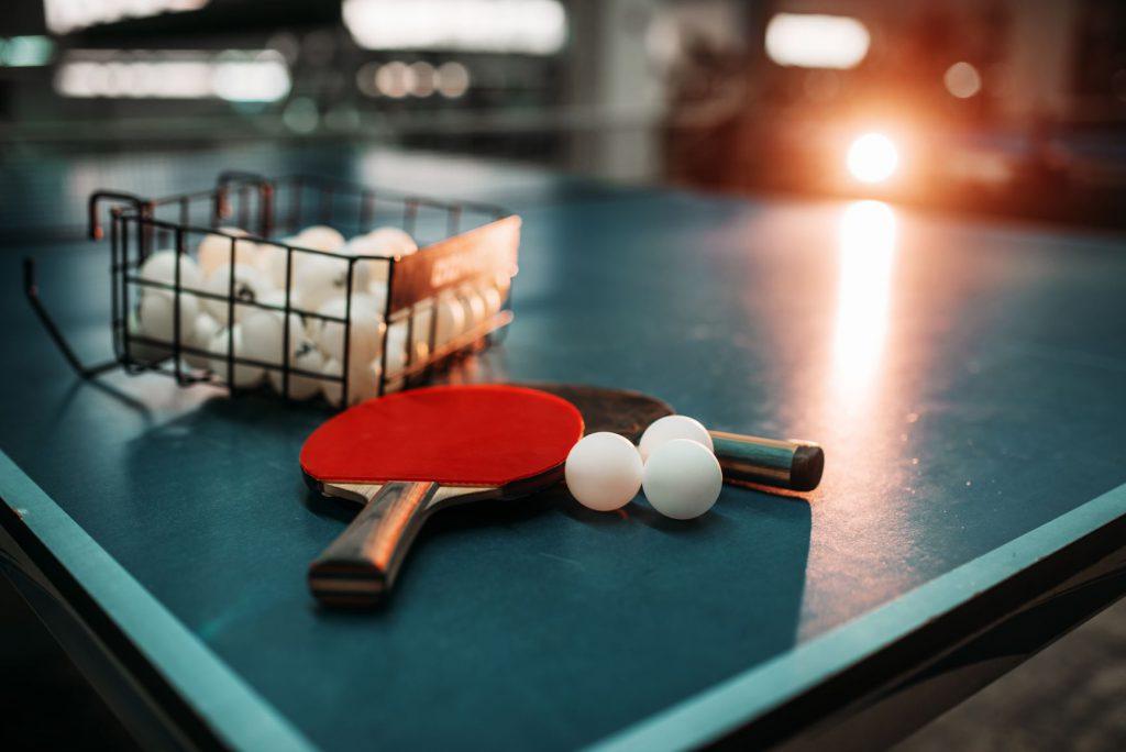 tenis stołowy trening